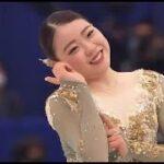 紀平梨花 国別対抗戦2021 フリー演技 (解説:イギリス英語)