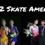 スケートアメリカ2012 男子FS&女子FS (解説:アメリカ英語)