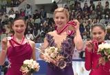 NHK杯2014 アリョーナ・レオノワ グレイシー・ゴールド 宮原知子