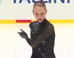 アンゲリーナ・クチヴァルスカ JGPタリン杯2014