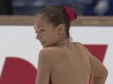 アレキサンドラ・ハガロワ JGPメ~テレ杯2014