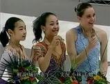 世界ジュニア選手権05 女子表彰式