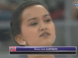 アンネ・リネ・ヤシェム 中国杯2014