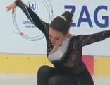 モニカ・ペテルカ JGPクロアチア杯2014