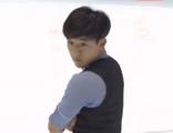 キム・ジンソ NHK杯2014