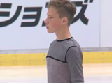 グレブス・バシンス JGPチェコスケート2014