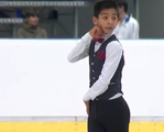 ドノバン・カリージョ JGPチェコスケート2014