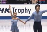 高橋成美&木原龍一 NHK杯2013