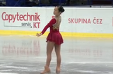 加藤利緒菜 JGPチェコスケート2013