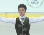 ドミトリー・アリエフ JGPリュブリャナ杯2014