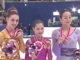 宮原知子 コートニー・ヒックス 浅田真央 NHK杯2015