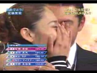 安藤美姫 世界フィギュア選手権2007 フリー