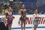 NHK杯2008 女子シングル表彰式