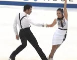 平井絵己&マリオン・デ・ラ・アソンション NHK杯2014