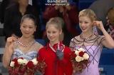 ユリア・リプニツカヤ 鈴木明子 グレイシー・ゴールド スケートカナダ2013 表彰式