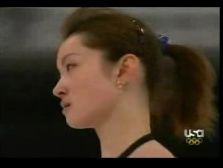 荒川静香 トリノ オリンピック 練習風景