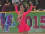 青木祐奈 アジアフィギュア杯2015
